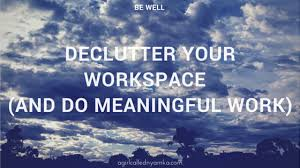 do meaningful work